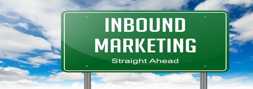 Highway Signpost with Inbound Marketing wording on Sky Background..jpeg